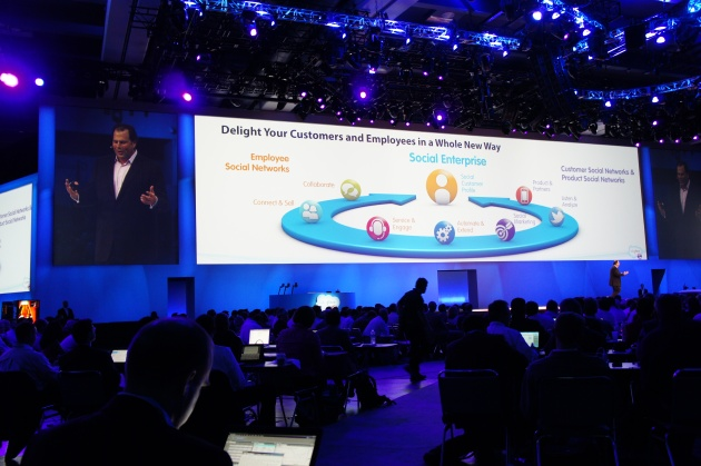 Marc Benioff Wraps Dreamforce 11 Keynote on the Social Enterprise