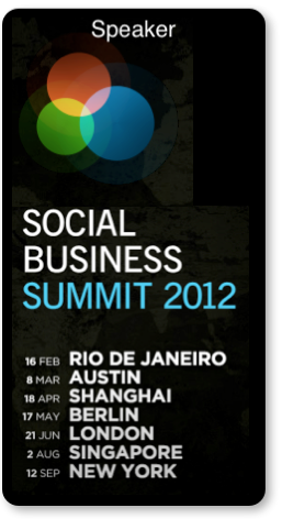 Dion Hinchcliffe Speaking at the Social Business Summit Series 2012