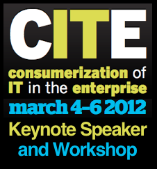 CITE Conference 2012 Keynote and Workshop by Dion Hinchcliffe