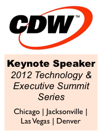 CDW Keynote Series by Dion Hinchcliffe Executive Summit 2012