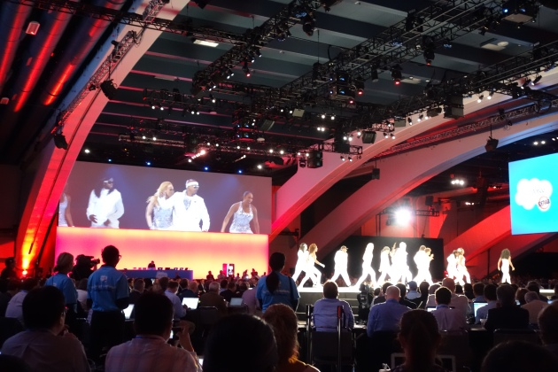 MC Hammer at Dreamforce 12