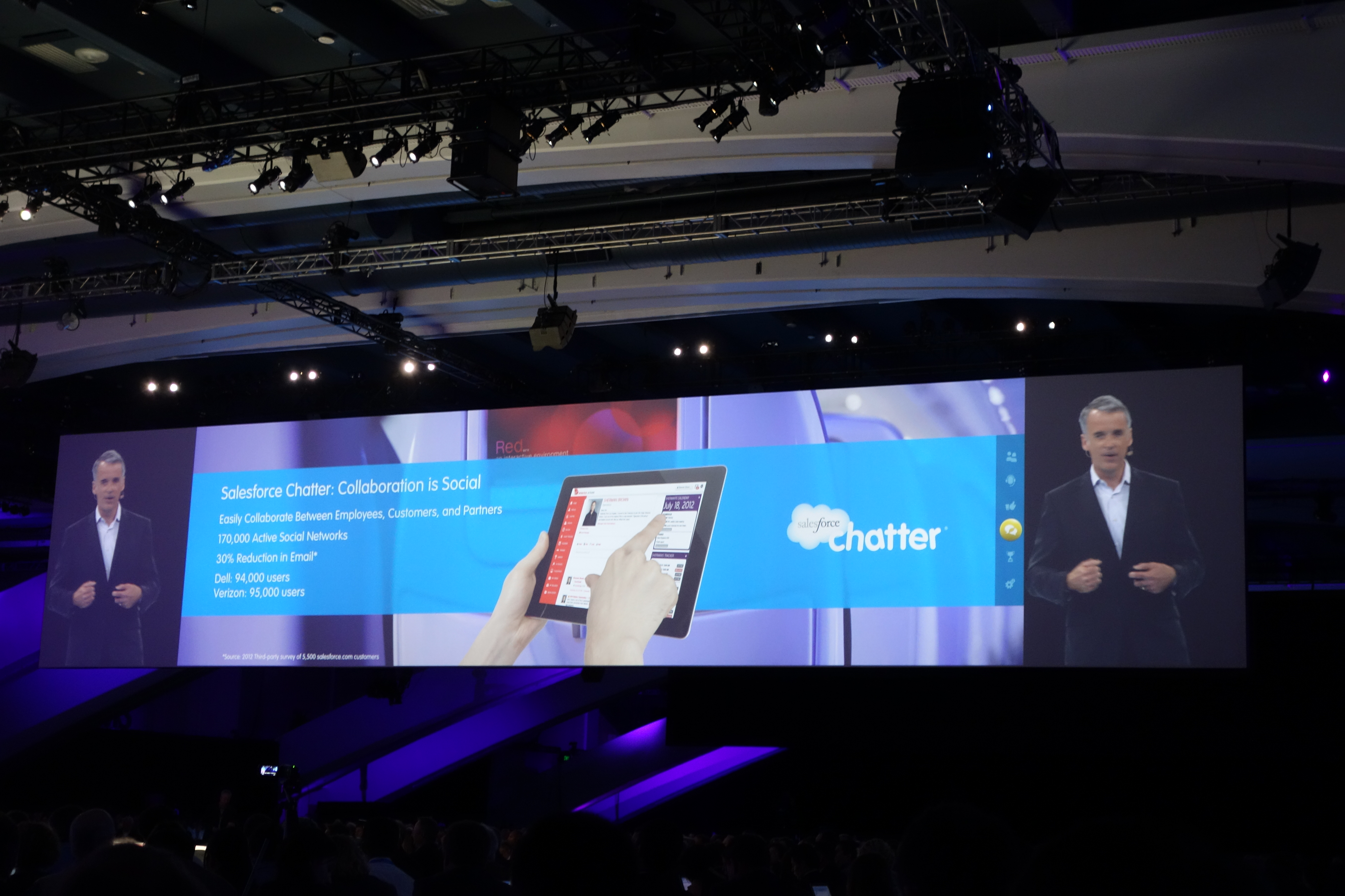 Parker Harris and Chatter at Dreamforce 12