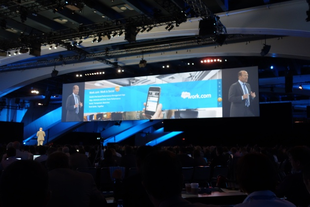 Work.com as a Social Busienss HR Platform at Dreamforce 12