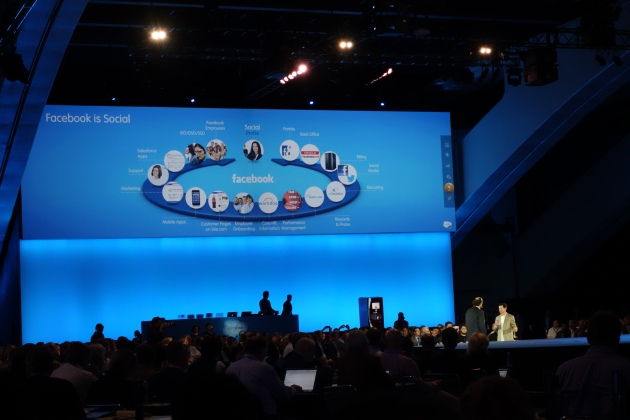 How Facebook is Social At Dreamforce 12