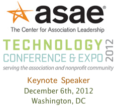 ASAE Tech Conference 2012 Keynote by Dion Hinchcliffe