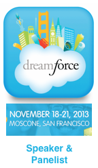 Dreamforce 2013 Speaker and Panelist by Dion Hinchcliffe