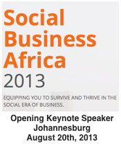 Social Business Afria | August 20 2013 | Opening Keynote by Dion Hinchcliffe