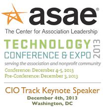 ASAE Tech Conference 2013 | CIO Track | Keynote by Dion Hinchcliffe