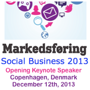 Social Business 2013 Denmark Keynote by Dion Hincchliffe