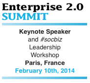 E2.0 Summit 2014 | Paris, France | Keynote and Leadership Workshop by Dion Hinchcliffe