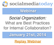 Webinar on Social Organization with Social Media Today and Dion Hinchcliffe