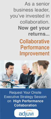 Collaborative Performance Workshops for Senior Executives by Adjuvi