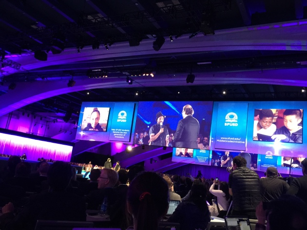 Marc Benioff talks to Will.i.am about public education, philanthropy, and his new wearable device that will be announced at Dreamforce 14 tomorrow. #df14