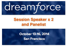 Dion Hinchcliffe speaking at Dreamforce 2014