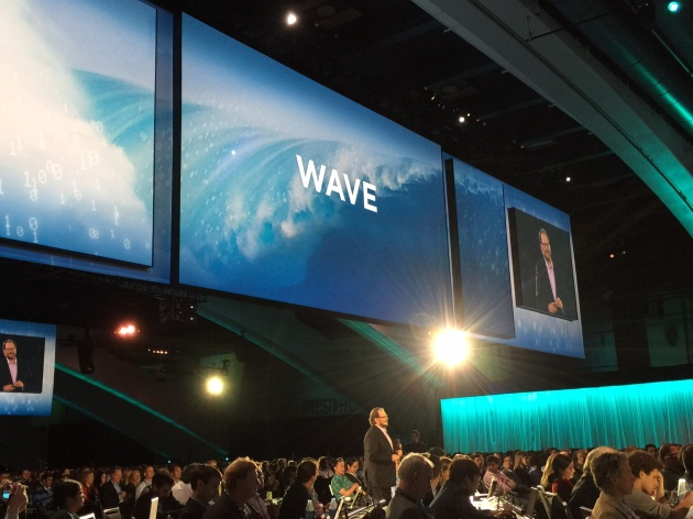 Marc Benioff talks about the new Wave Analytics Cloud at Dreamforce 14. #df14