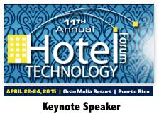 Hotel Technology Forum | Keynote Speaker Dion Hinchcliffe | April 2015