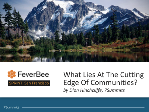 What Lies at the Cutting Edge of Online Communities and Community Management
