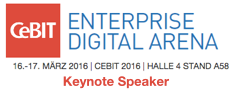 CeBIT Enterprise Digital Arena 2016 Keynote by Dion Hinchcliffe