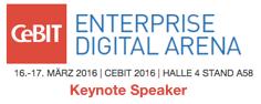 CeBIT Enterprise Digital Arena 2016 Keynote by Dion Hinchcliffe
