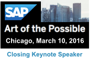 SAP Art of the Possible Closing Keynote March 10, 2016 by Dion Hinchcliffe
