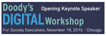 Doody's Digital Workshop November 2015 in Chicago Keynote by Dion Hinchcliffe