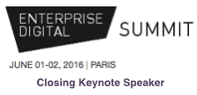 Enterprise Digital Summit Paris 2016 Keynote By Dion Hinchcliffe