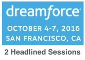 Salesforce's Dreamforce 2016 in San Francisco | 2 Headlined Emerging Tech Track Trends Sessions by Dion Hinchcliffe