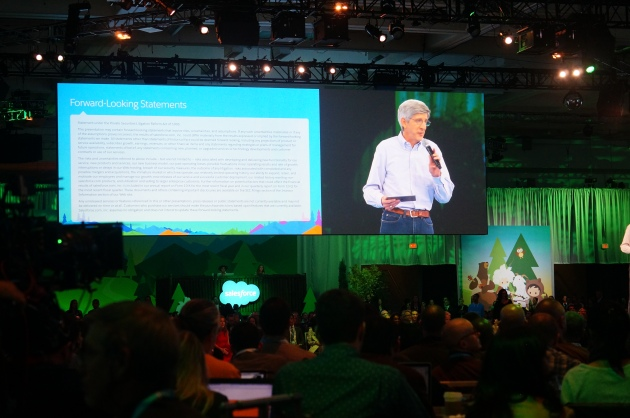 Peter Coffee kicking off Dreamforce 2016