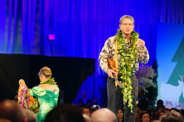 The Ambassadors of Aloha Opening Dreamforce 2016