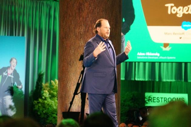 Marc Benioff Begins His Annual Keynote at Dreamforce 2016
