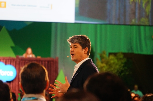 Salesforce Chief Product Officer, Alex Dayon, Unveils New Products at Dreamforce 2016