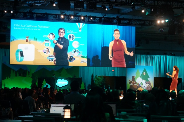 An overview of Fitbit and Health Cloud at Dreamforce 2016