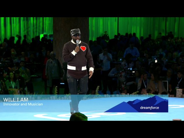 will.i.am at Dreamforce 2016 (Photo by Alan Lepofsky)