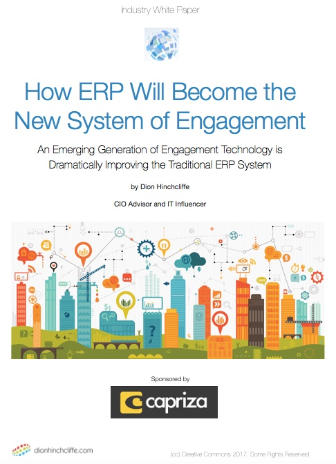 How ERP Will Become the New Systems of Engagement White Paper by Dion Hinchcliffe