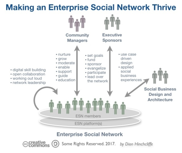 Making an Enterprise Social Network Thrive