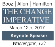 Booz Allen Innovation Center Keynote on the Change Imperative by Dion Hinchcliffe on March 12th, 2017