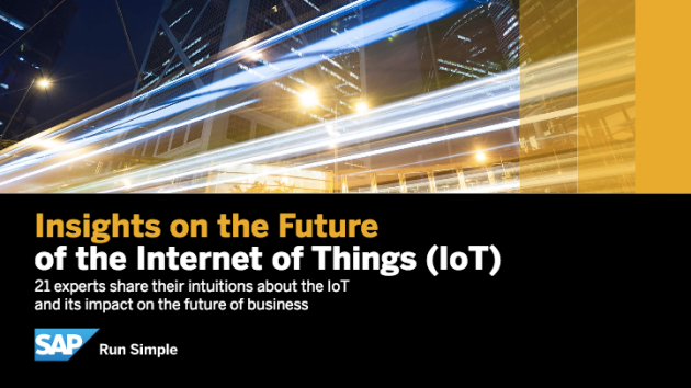 SAP eBook: The Future of the Internet of Things (IoT), with Dion Hinchcliffe