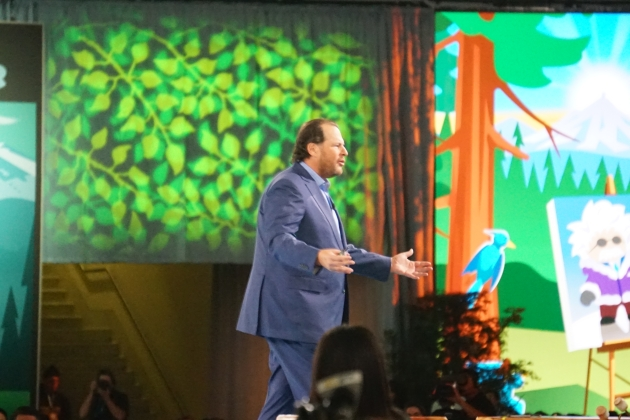 Marc Benioff Keynoting Dreamforce 2017