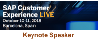 SAP Customer Experience Live Barcelona 2018 Keynote by Dion Hinchcliffe