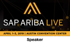 SAP Ariba Live in Austin, Texas | April 1-3, 2019 | Speaker Dion Hinchcliffe