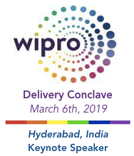 Wipro Delivery Conclave in Hyderabad, India | Keynote by Dion Hinchcliffe