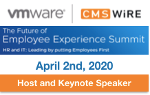 VMWare CMSWire Employee Experience Summit 2020 Hosting and Keynote by Dion Hinchcliffe