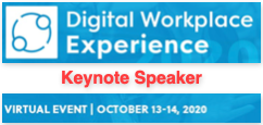 Digital Workplace Experience 2020 Keynote by Dion Hinchcliffe